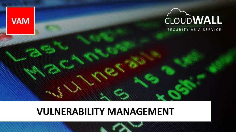 CloudWALL VAM | Vulnerability Management
