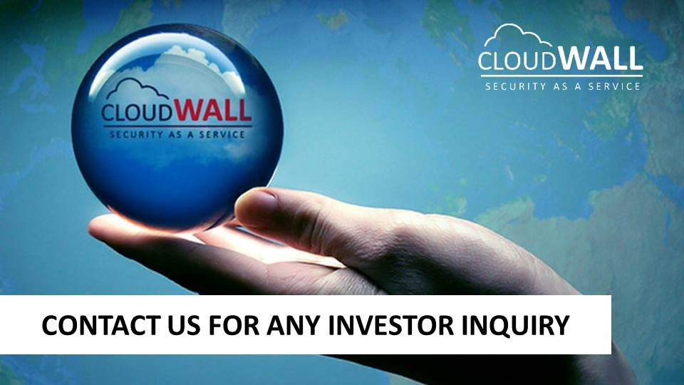 Contact us for any investor inquiry